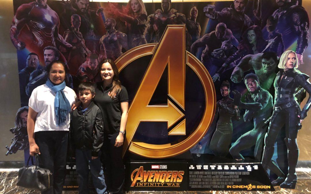 April 27, 2018 : Block Screening Of The Avengers : Infinity War